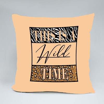 This Is a Wild Time Throw Pillows