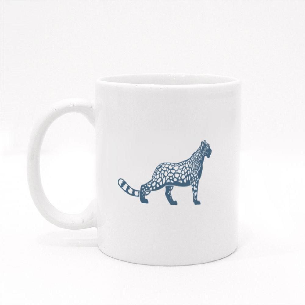 Snow Leopard Toughen Up Colour Mugs