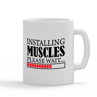 Installing Muscles, Please Wait (Fitness Fun)