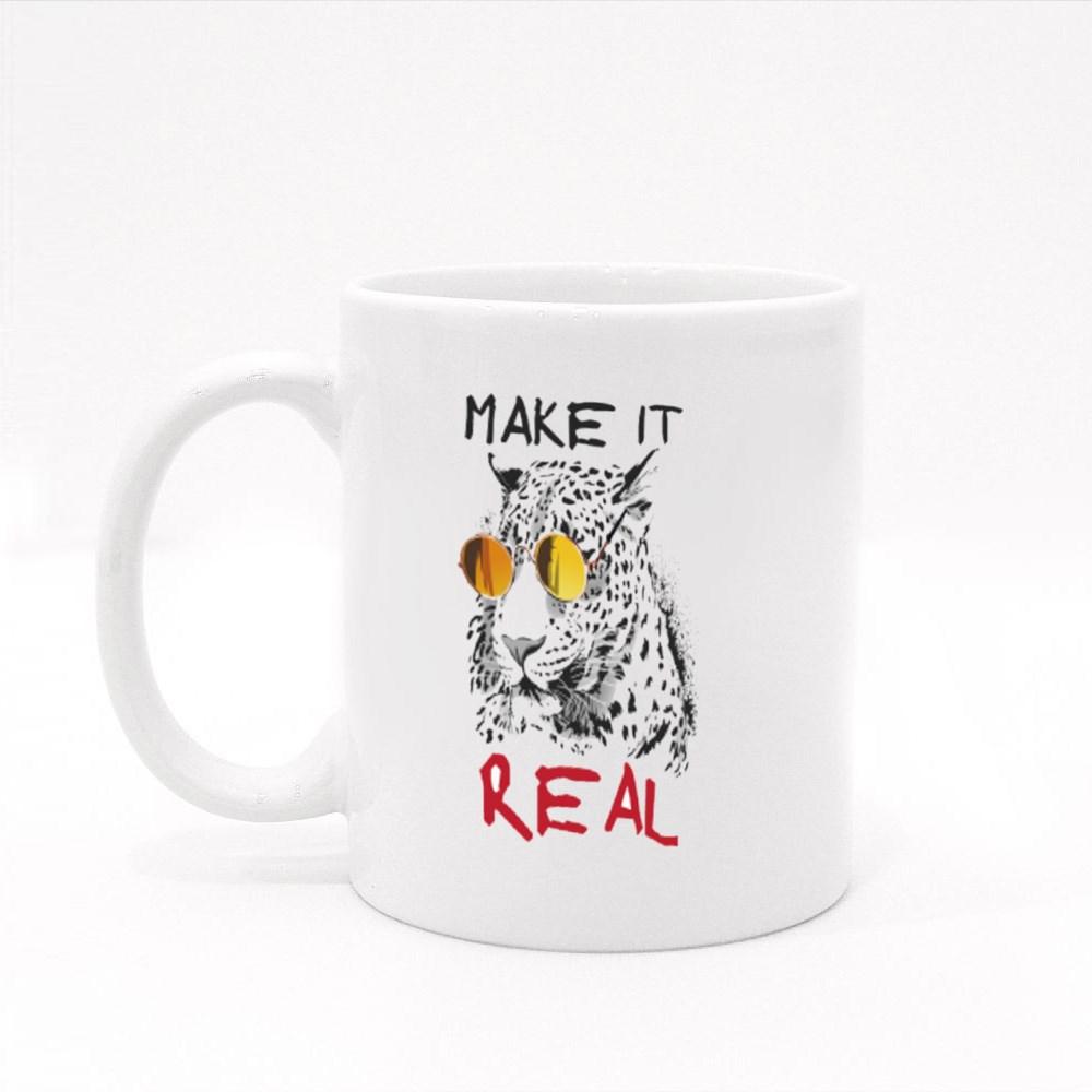 Make It Real Cool Leopard Colour Mugs