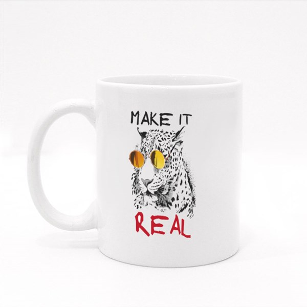 Make It Real Cool Leopard Colour Mugs