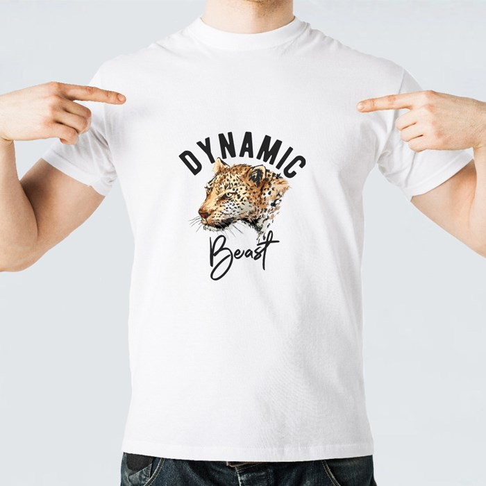The Leopard a Dynamic Beast T-Shirts