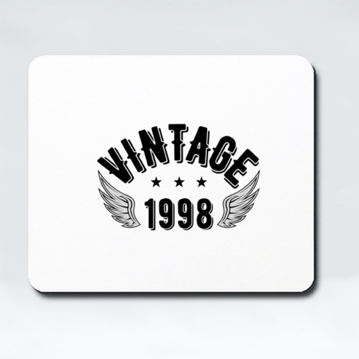 Vintage 1998 B Mousepads (Rectangle)