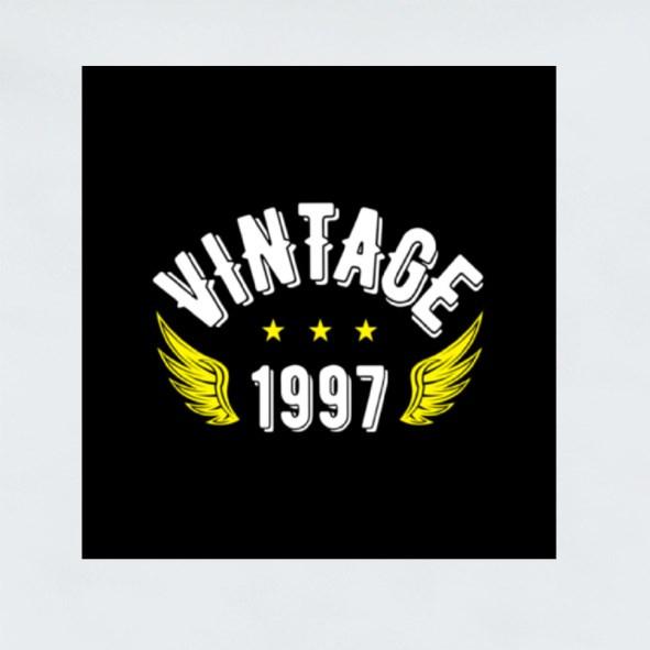 Vintage 1997 Stickers (Square)