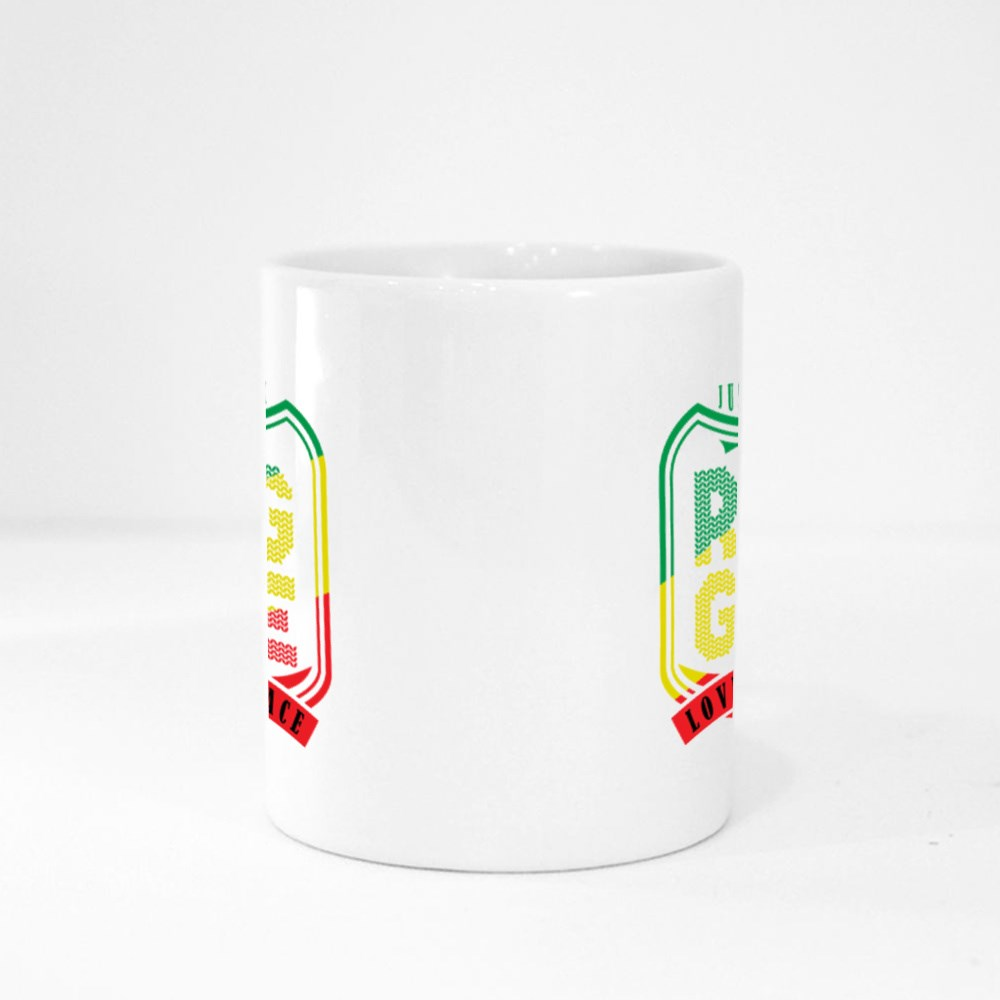 Reggae Love and Peace Magic Mugs