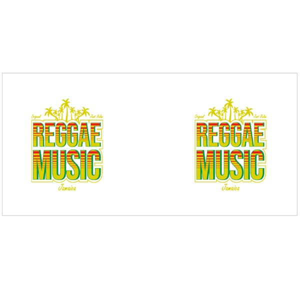 Reggae Music Jamaica Colour Mugs