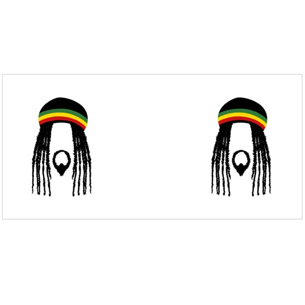 Rastafarian and Raggae Colour Mugs