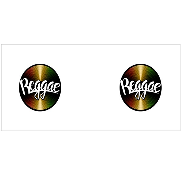 Vinyl Disc Reggae Colour Mugs