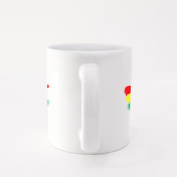 Tri Colored Reggae Flag Colour Mugs