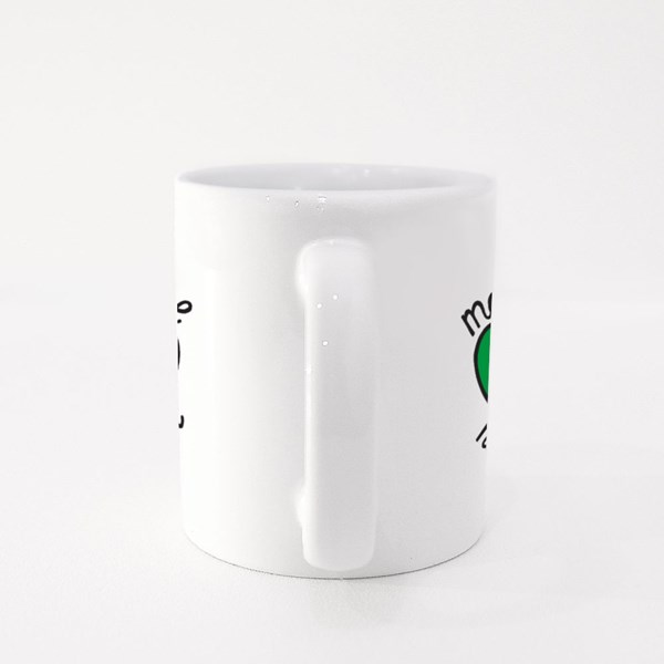 Make Love Not War Colour Mugs