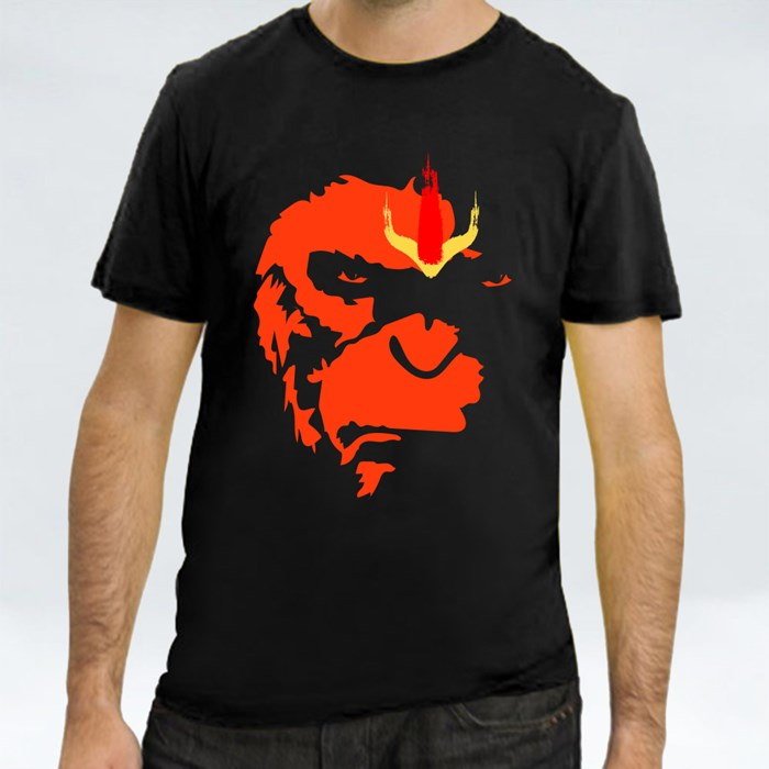 Lord Hanuman Art T-Shirts