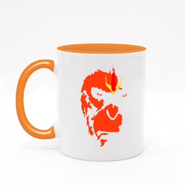 Lord Hanuman Art Colour Mugs