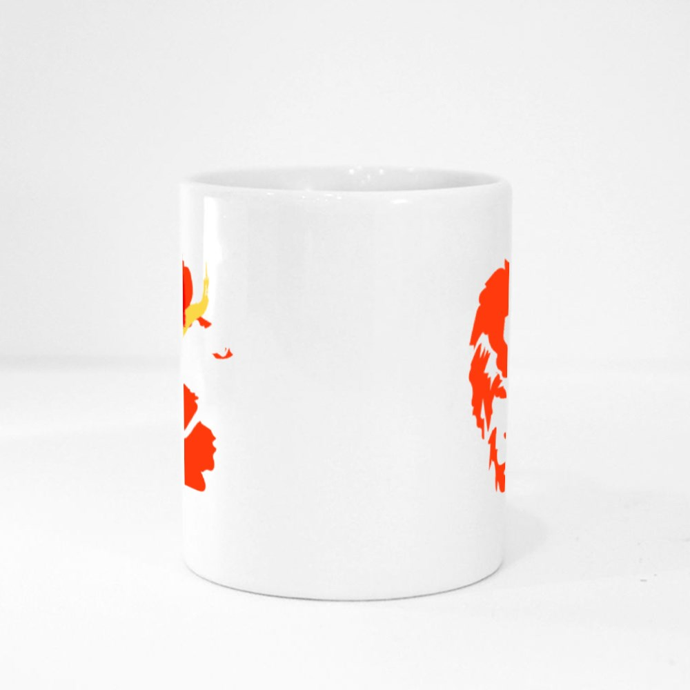 Lord Hanuman Art Magic Mugs