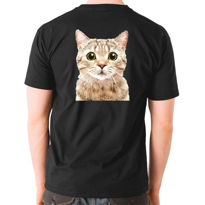 Funny Cat T-Shirts (Front & Back)