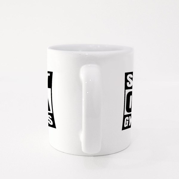 Straight Outta Gymnastics Colour Mugs