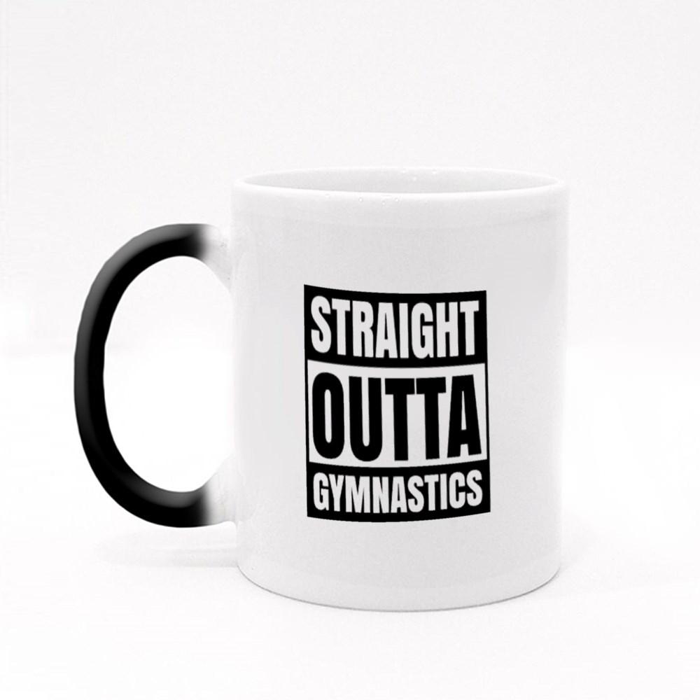 Straight Outta Gymnastics Magic Mugs