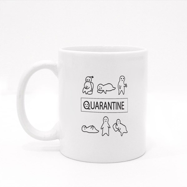 My Quarantine Days Colour Mugs