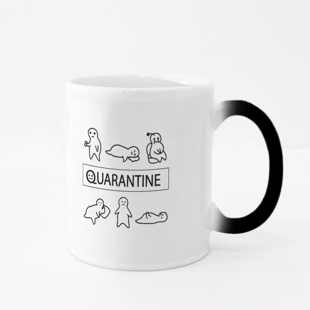 My Quarantine Days Magic Mugs