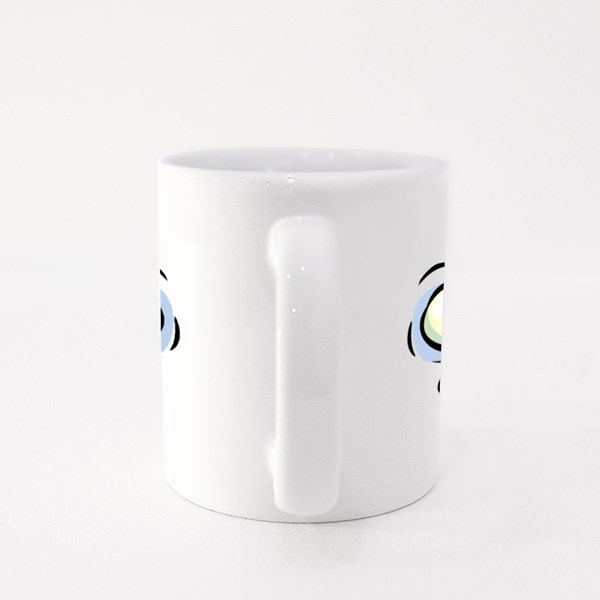 Crazy Shocked Face Colour Mugs