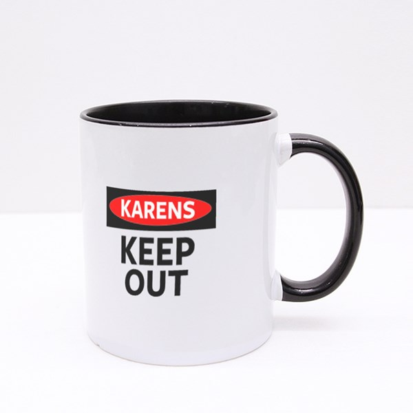 Karens Keep Out Colour Mugs