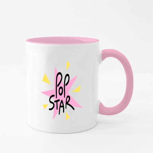 Popular Music Artist Colour Mugs