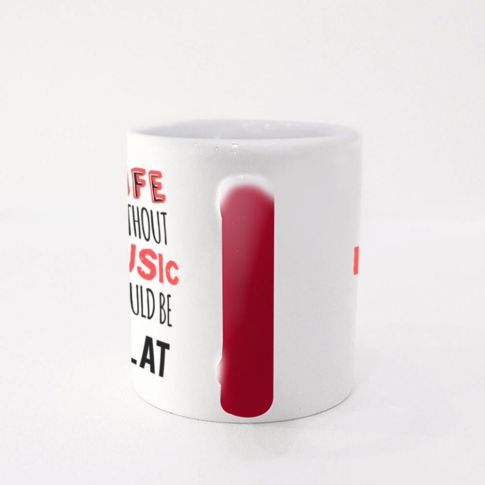 Quote About Music Magic Mugs