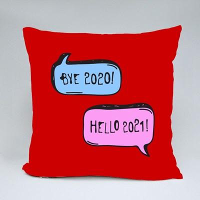Bye 2020, Hello 2021 Throw Pillows