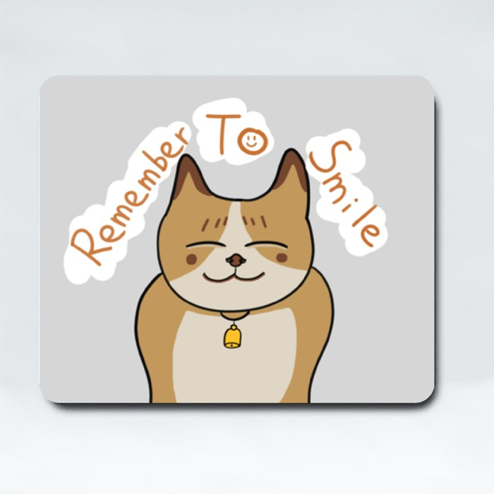Remember to Smile Mousepads (Rectangle)