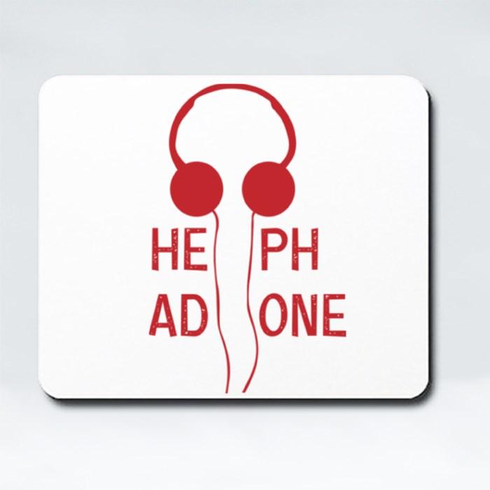 Headphone Mousepads (Rectangle)
