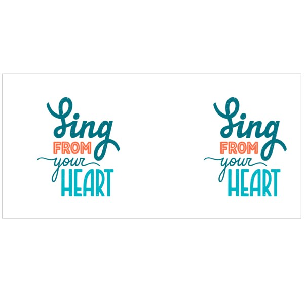 Sing from Your Heart Colour Mugs