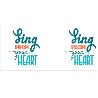 Sing from Your Heart Magic Mugs