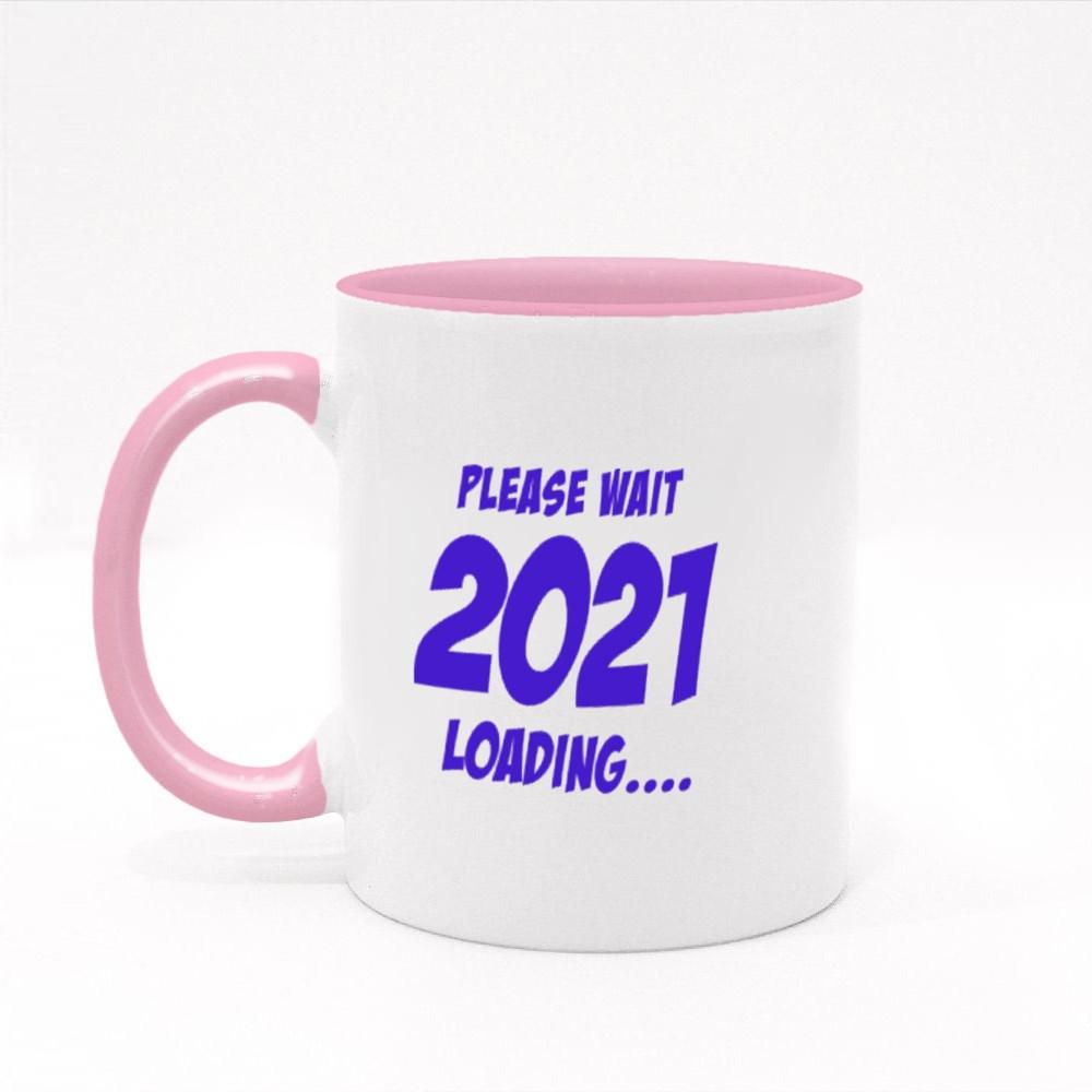 Please Wait 2021 Loading Colour Mugs
