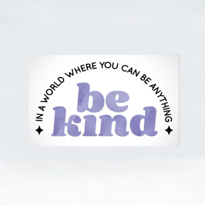 Be Kind Stickers (Rectangle)