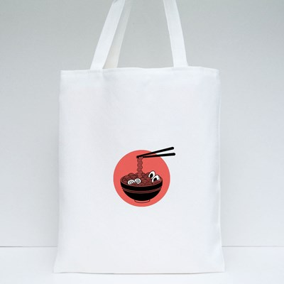 Japanese Traditional Noodle Tote Bags