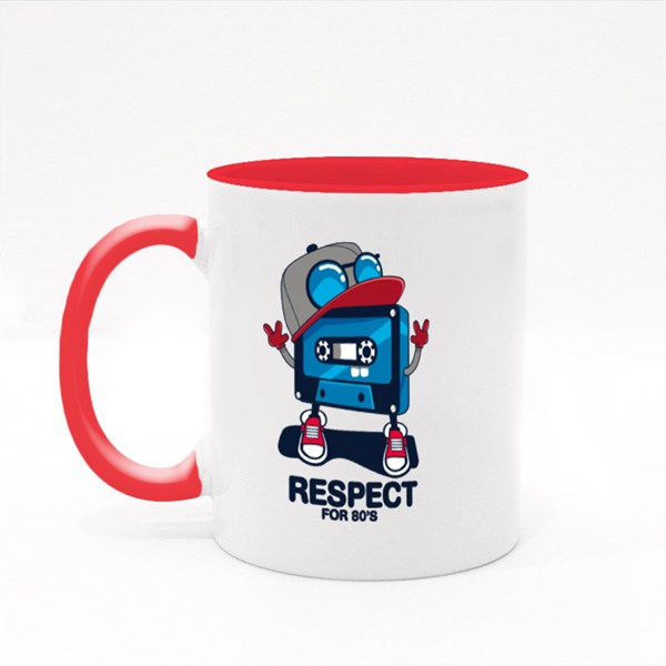 Respect for 80'S Colour Mugs