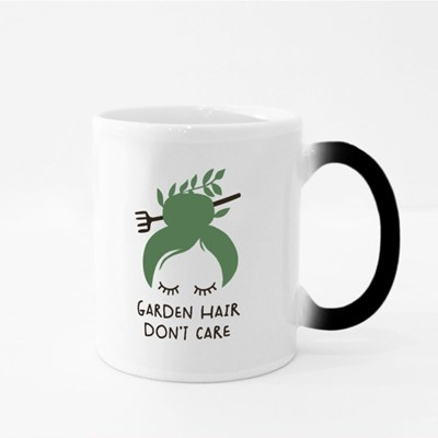 Garden Hair Don't Care Magic Mugs