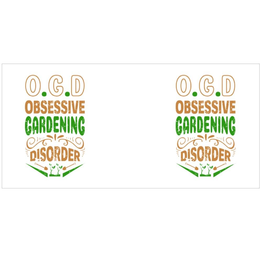 Obsessive Gardening Disorder Colour Mugs