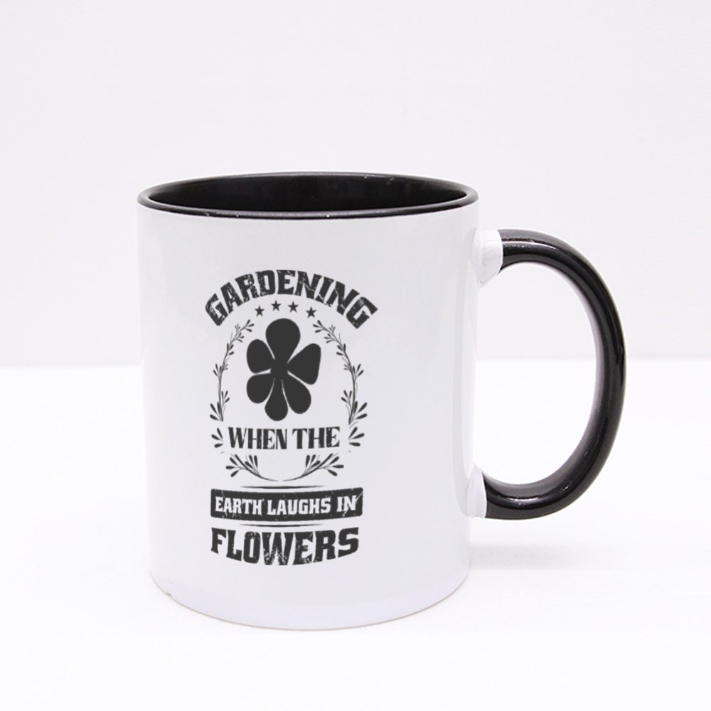 Earth Laughs in Flowers Colour Mugs