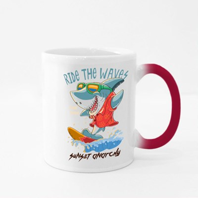Ride the Waves. Magic Mugs