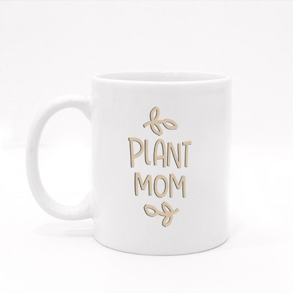 Vintage Plant Mom Colour Mugs