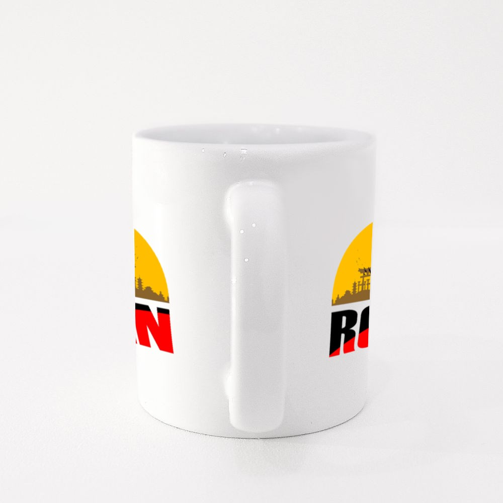Silhouette of the Ronin Colour Mugs