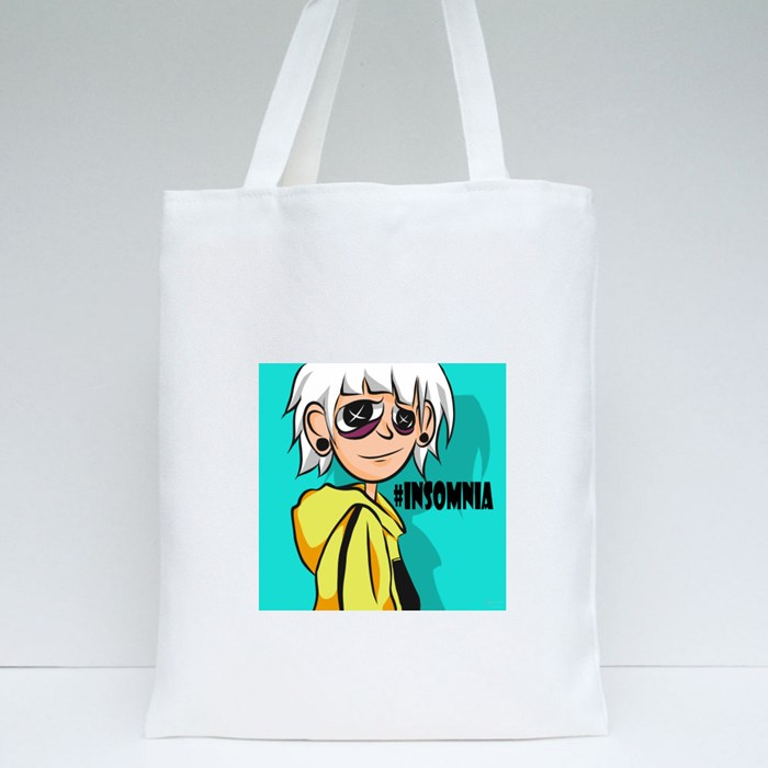 Insomnia (By Artslayer_X) Tote Bags