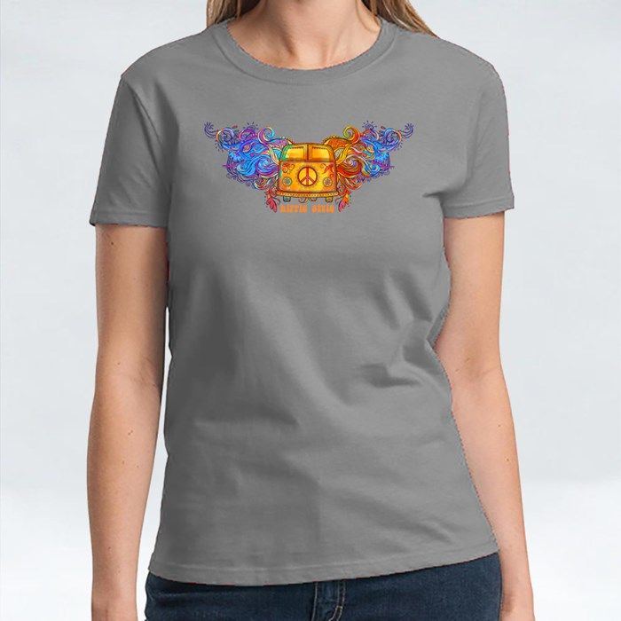 Vintage Hippie Car T-Shirts