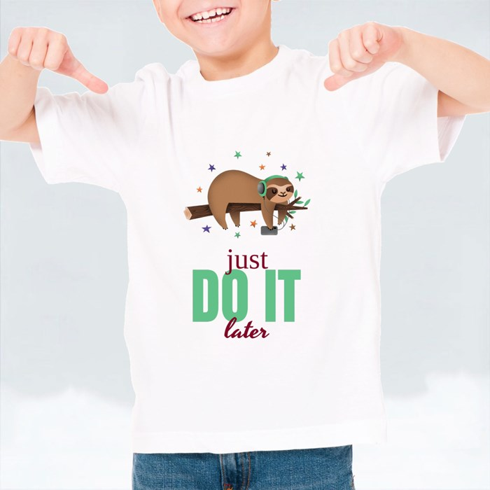 Just Do It Later T-Shirts (Kid)