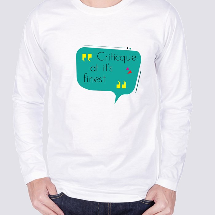 Critic at Its Finest Long Sleeve T-Shirts