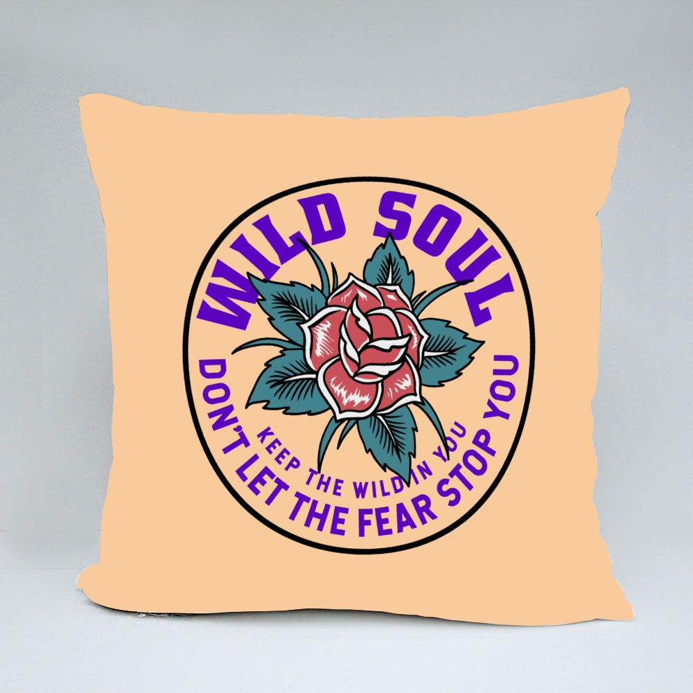 Don't Let the Fear Stop You Throw Pillows