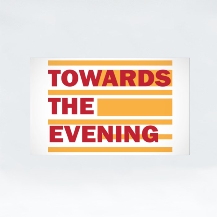 Towards the Evening Stickers (Rectangle)