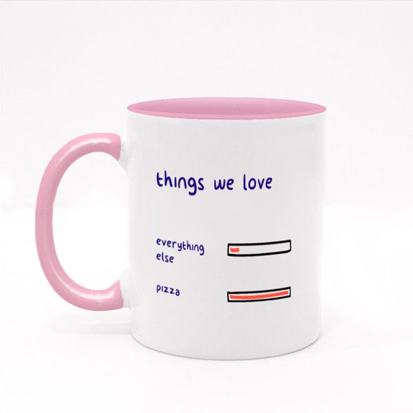 Choices of Things We Love Colour Mugs