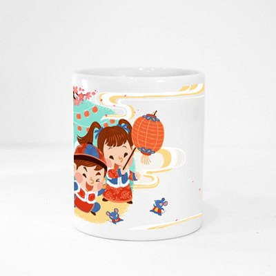 Auspicious Lunar New Year Magic Mugs