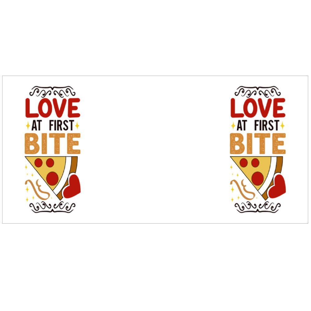 Love at First Bite Colour Mugs